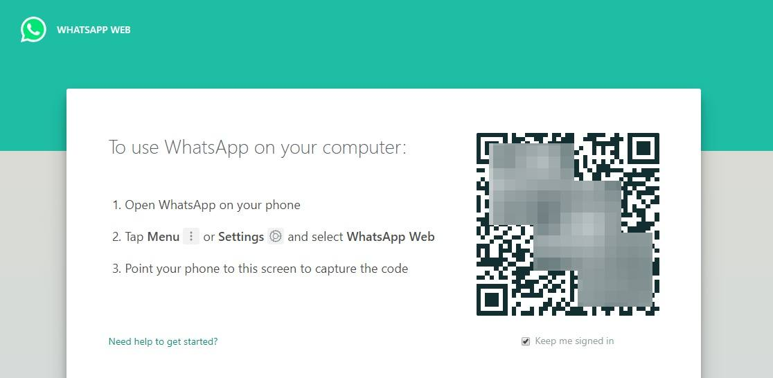 WhatsApp Web Login QR Code