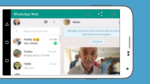 WhatsApp Web for Mobile Smartphone