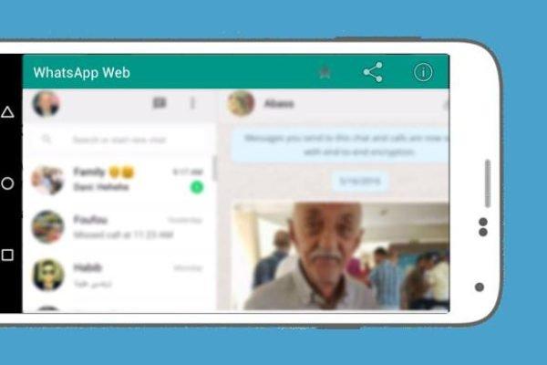 WhatsApp Web for Mobile Smartphone