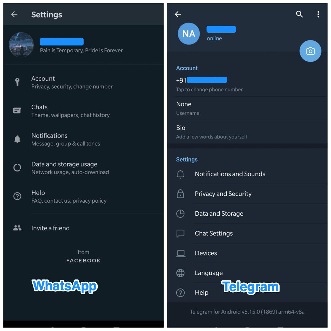 WhatsApp_and_telegram_Settings