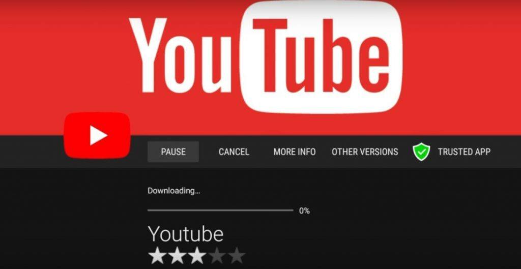 YouTube App Download from Aptoide