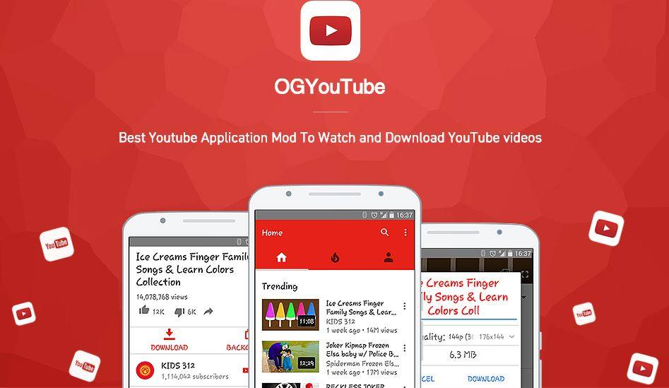 Youtube Mod Apk Download For Android Ogyoutube 2020