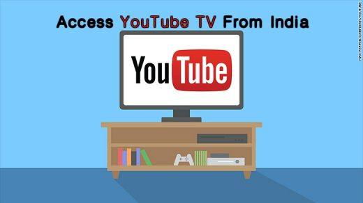 YouTube TV Access from India