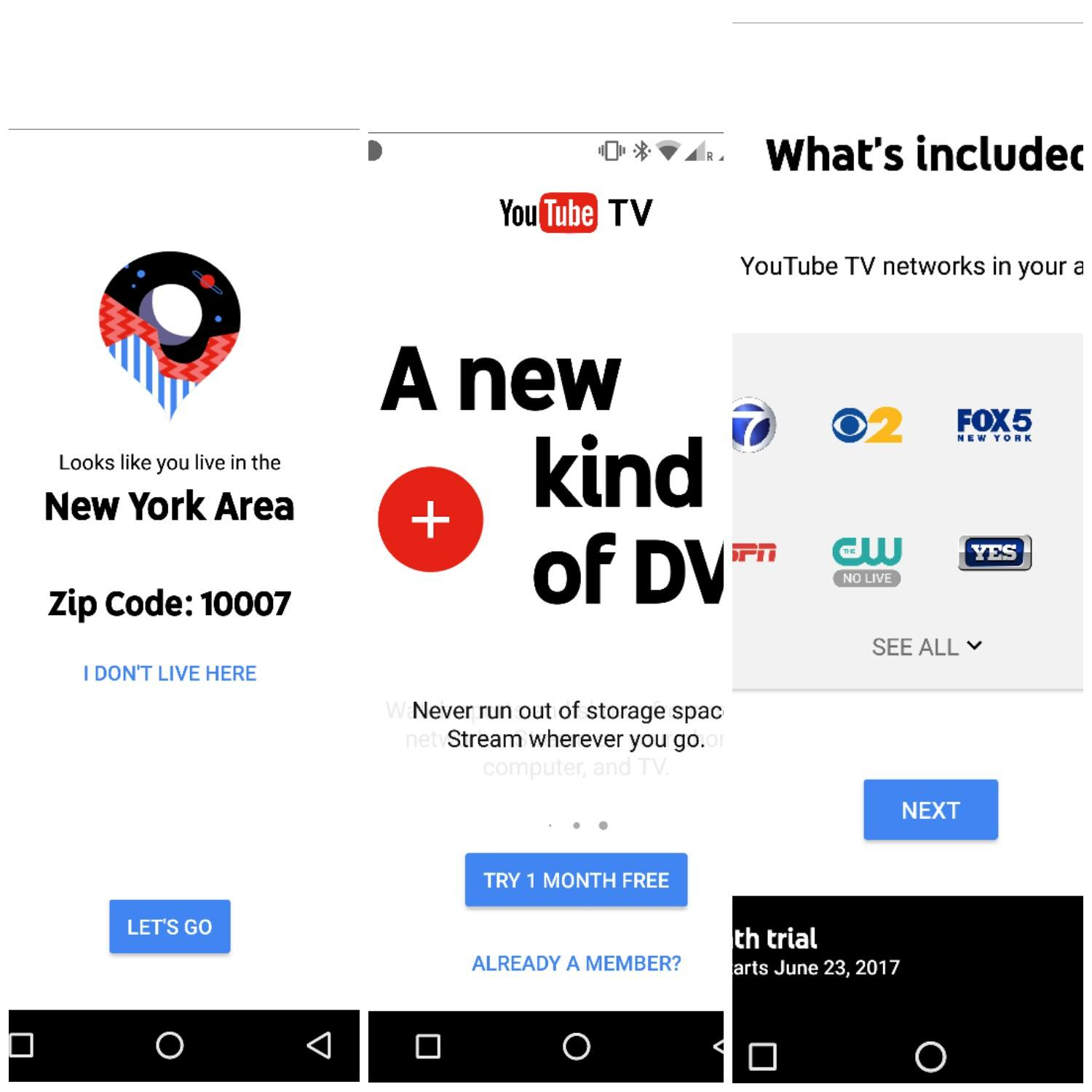 YouTube TV on the Run