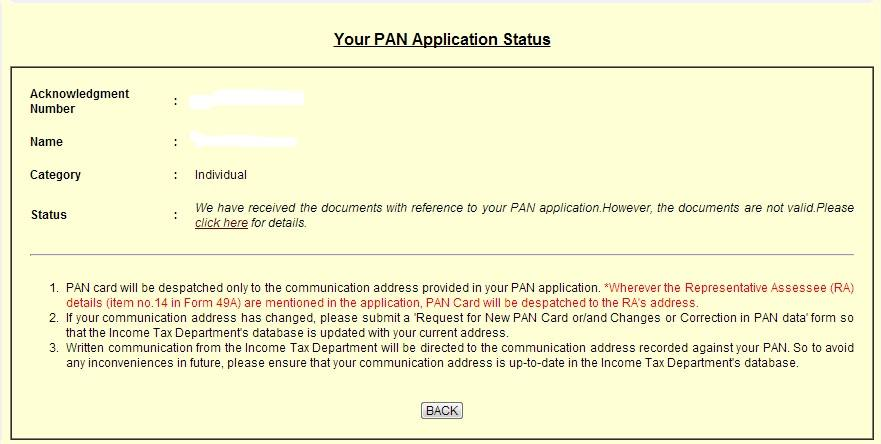 Your-PAN-Application-Status