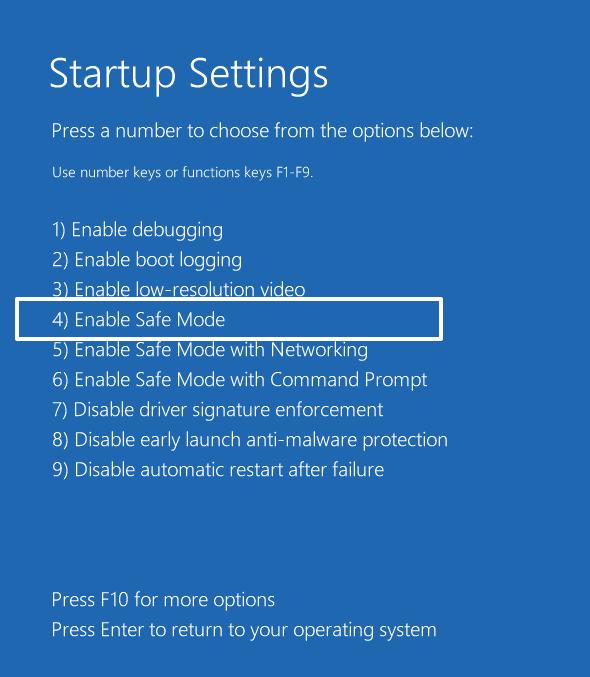 boot windows 11 into safe mode via recovery mode