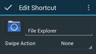 change icon name android - nova launcher