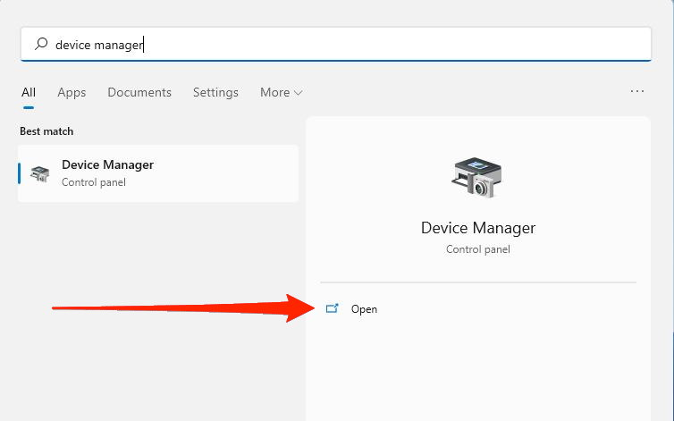 device manager windows 11