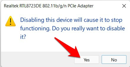 disable network driver confirmation windows 11