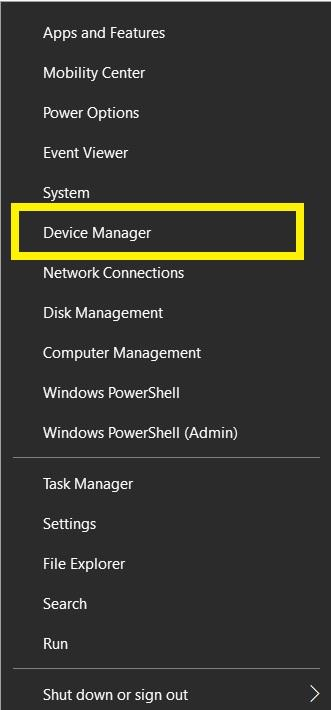 """enter """"devmgmt.msc"""" to open Device Manager"""
