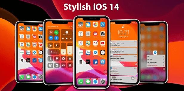 iOS 14 Launcher