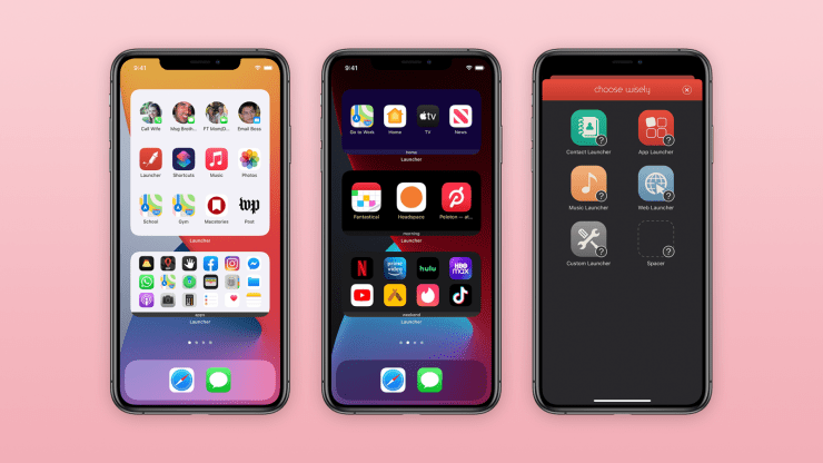 iPhone 12 Pro Launcher APK iOS 14