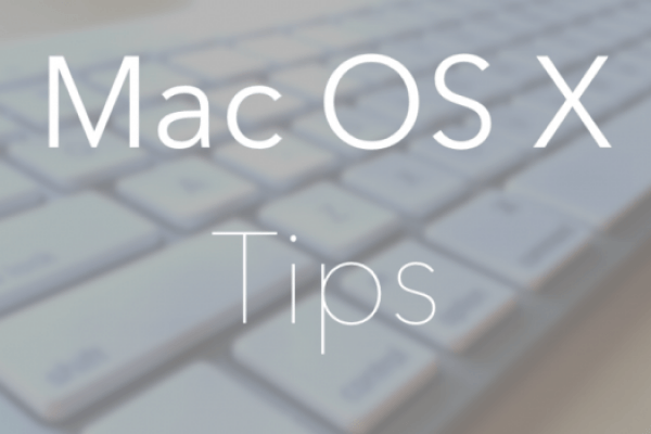 macOS Tips tricks