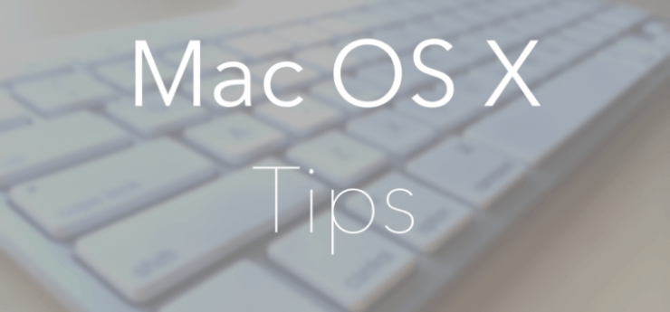 macOS Tips tricks