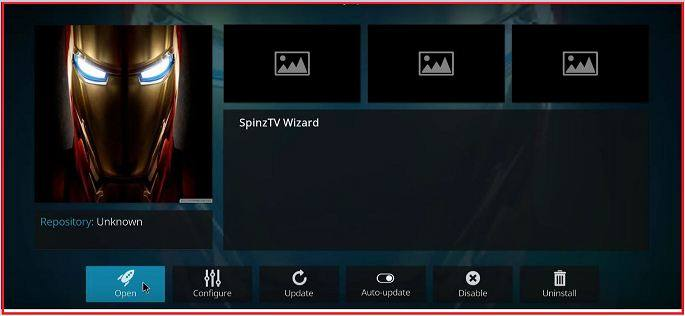 Open SpinzTV Pro