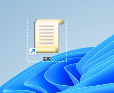 open group policy editor in windows 11 via desktop shortcut