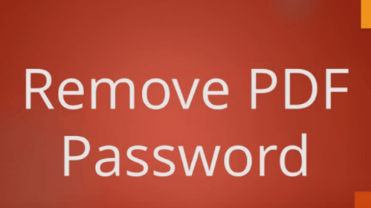 password Remover Android pdf