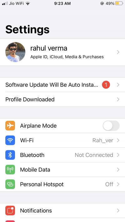 profile Download