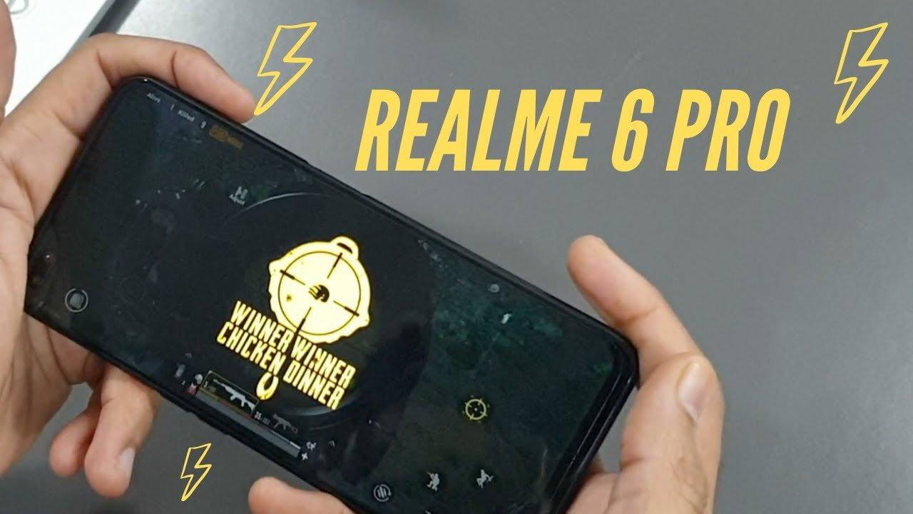 realme-6-pro for PUBG Mobile
