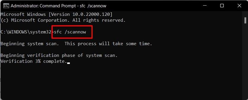 system file checker tool windows 11