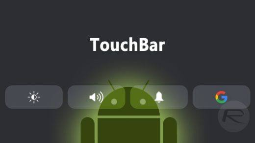 touchbar-android