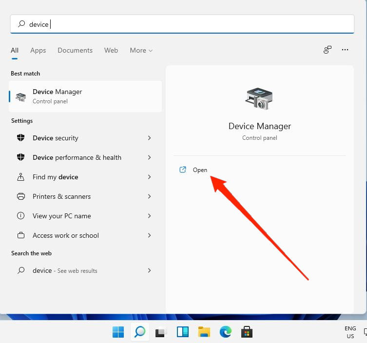 windows 11 device manager
